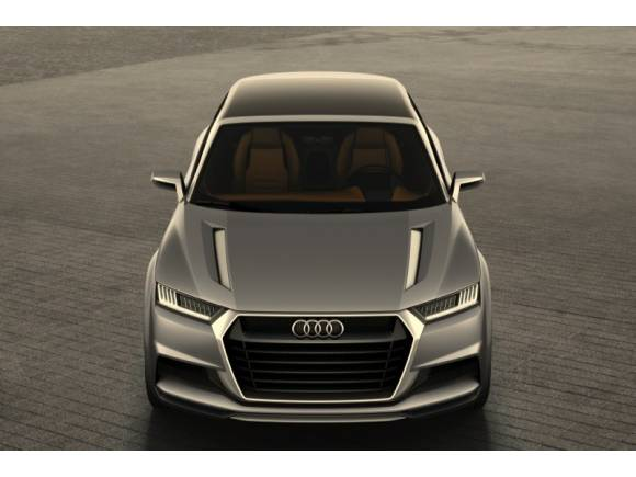 Audi crosslane coupé: un descapotable híbrido anticipo del Audi Q2