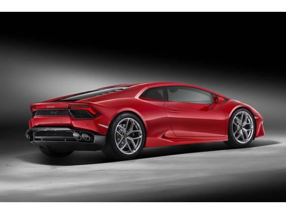 Nuevo Lamborghini Huracán LP 580-2, de propulsión trasera