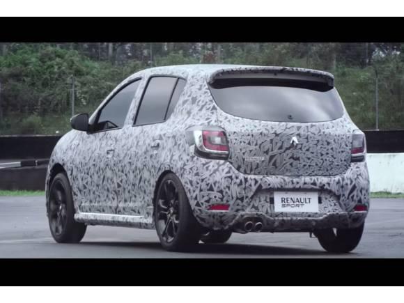 Video: se avecinan versiones RS de Dacia