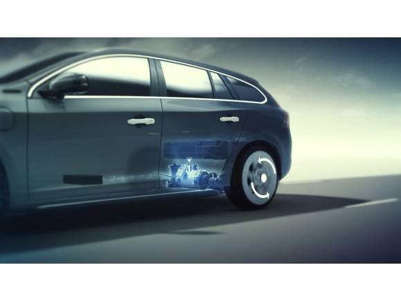 Primer contacto con el Volvo V60 híbrido y enchufable
