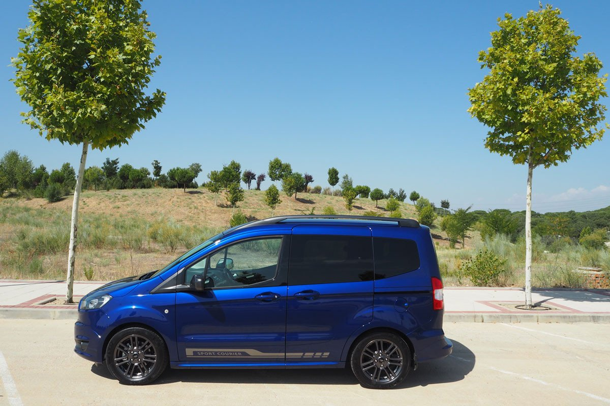 Prueba Ford Tourneo Courier Una Alternativa A Los Monovolumen