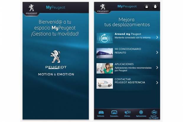 Link MyPeugeot, aplicación que conecta el Peugeot 308 SW al móvil
