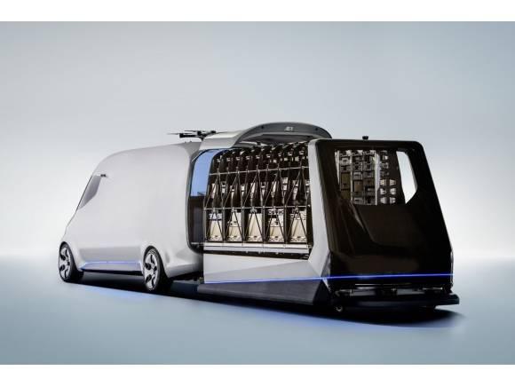 Mercedes Vision Van: las furgonetas también pueden ser eléctricas