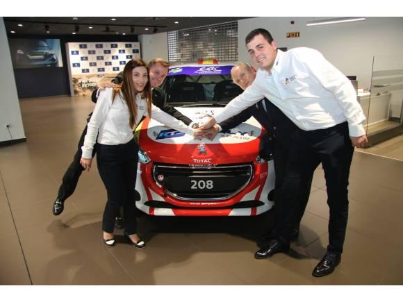 RFEDA y Peugeot llevan a Efrén Llarena al ERC 2018