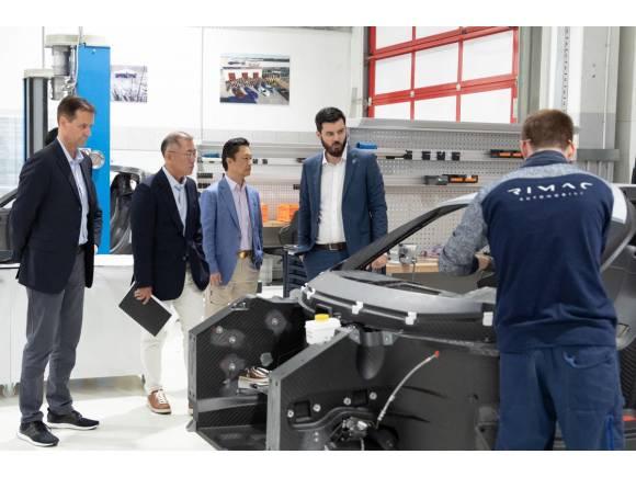 Hyundai Group se une a Rimac para crear superdeportivos eléctricos
