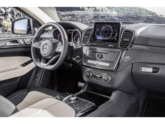 Mercedes GLE Coupé, el SUV deportivo para competir con BMW