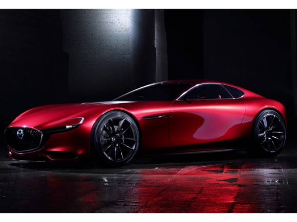 Mazda RX-VISION, heredero del RX-8 con motor rotativo