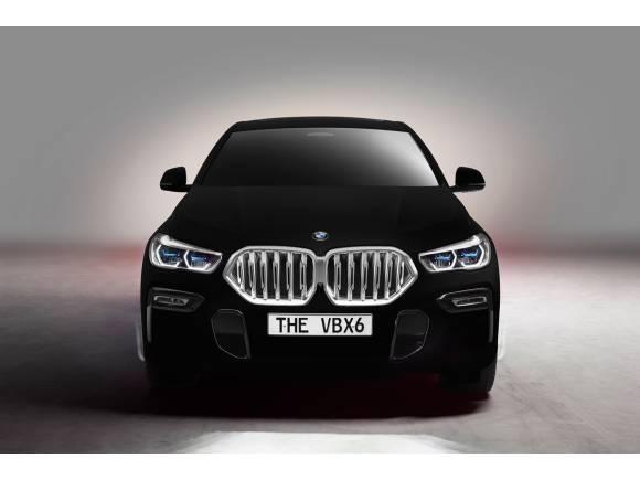 BMW X6 Vantablack: así es el coche más negro del mundo