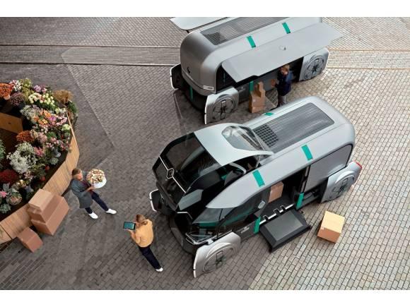 Renault EZ-PRO: prototipo del reparto autónomo y eléctrico del futuro