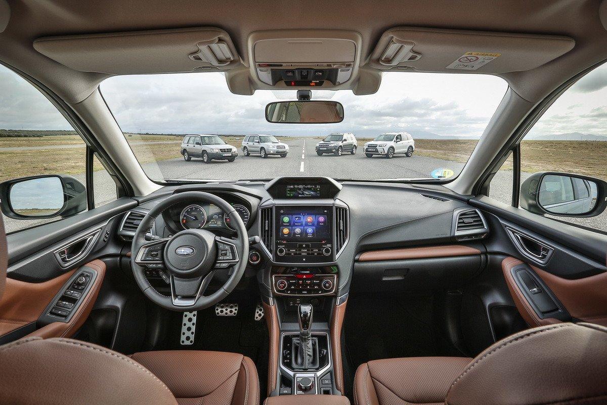 Primera prueba Subaru Forester ecoHYBRID