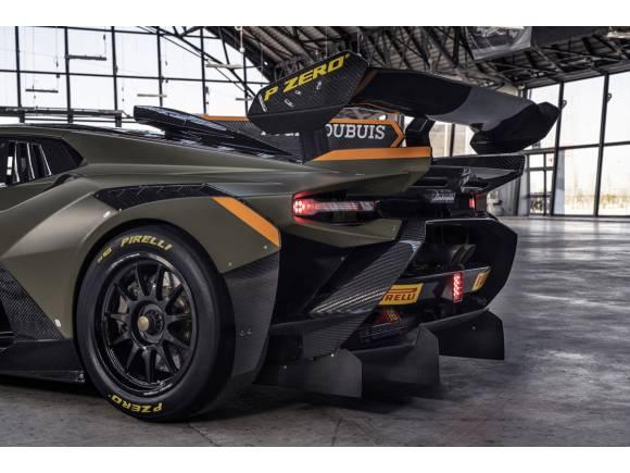 Lamborghini Huracán Super Trofeo EVO2: la marca italiana actualiza su coche de carreras