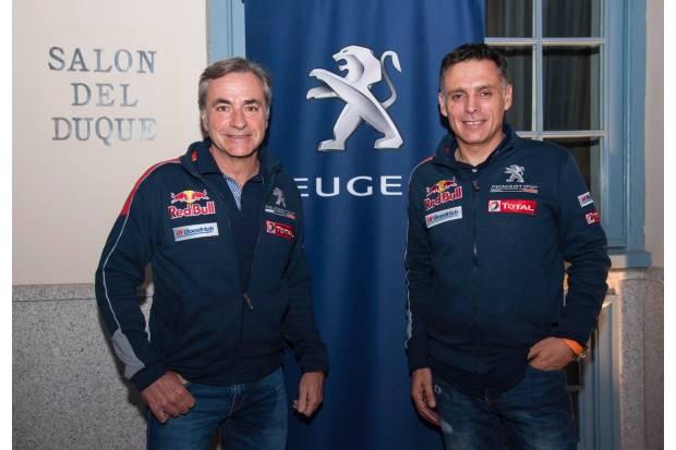 Carlos Sainz y Lucas Cruz preparados para el Dakar 2017