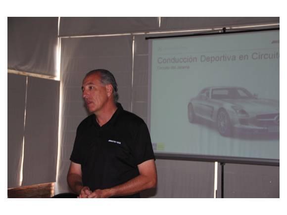 Curso de conducción deportiva en el Jarama con Michelin y Mercedes AMG