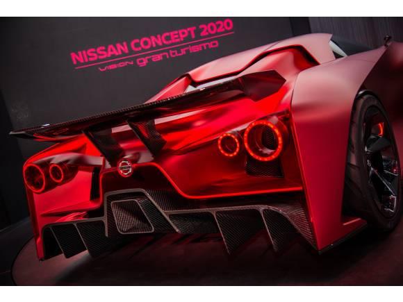 Nissan Concept Vision 2020: el GT-R llevado al extremo