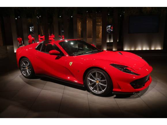 Nuevo Ferrari 812 GTS, 800 CV a cielo abierto