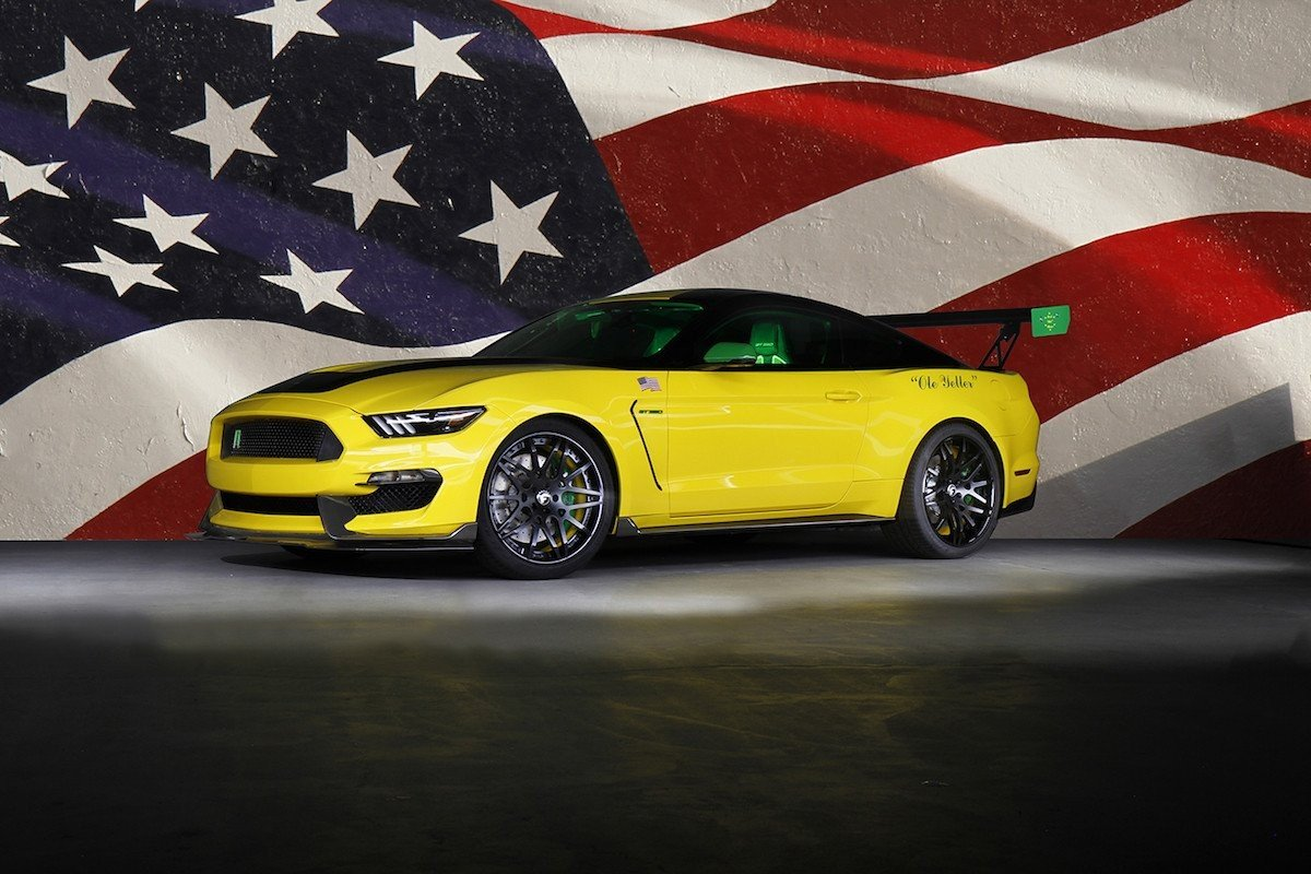 Ford Ole Yeller Mustang