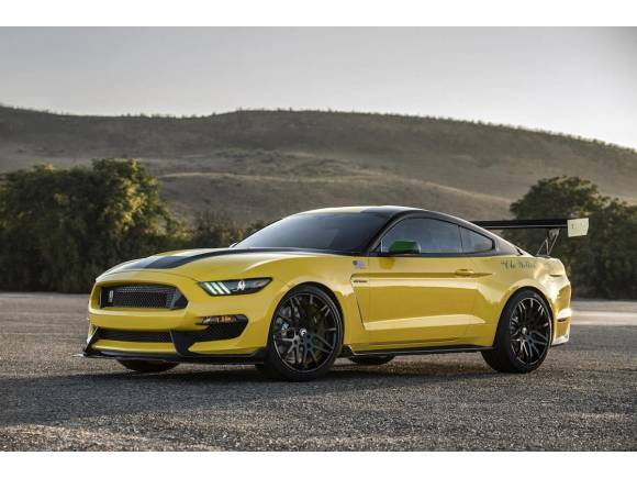 """Ford """"Ole Yeller"""" Mustang, un Shelby GT350 ínico"""
