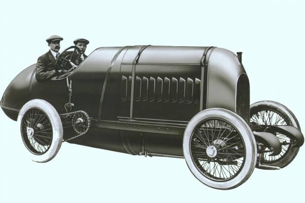 Video: así suena un coche de 1911