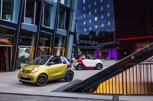 Precio smart fortwo cabrio: desde 16.915 euros