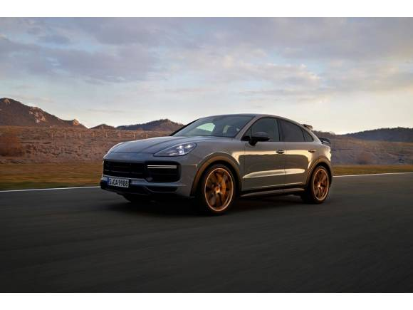 Nuevo Porsche Cayenne Coupé Turbo GT: la versión más potente de gasolina
