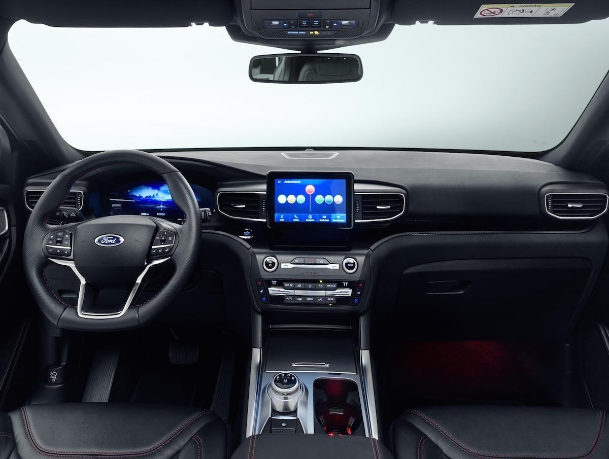 Nuevo Ford Explorer híbrido enchufable