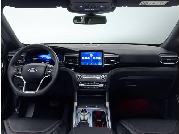 Nuevo Ford Explorer híbrido enchufable, directo de América