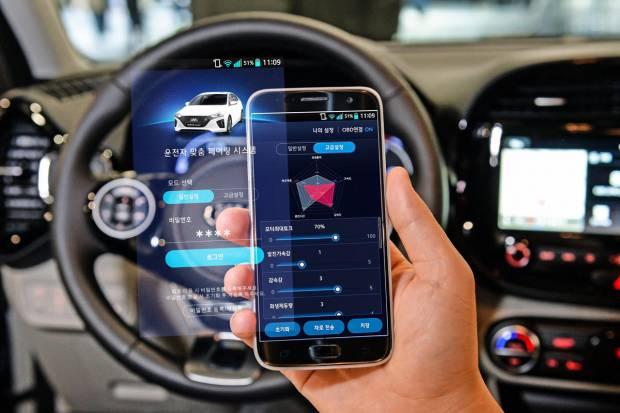 Hyundai inventa una aplicación para cambiar el rendimiento del coche