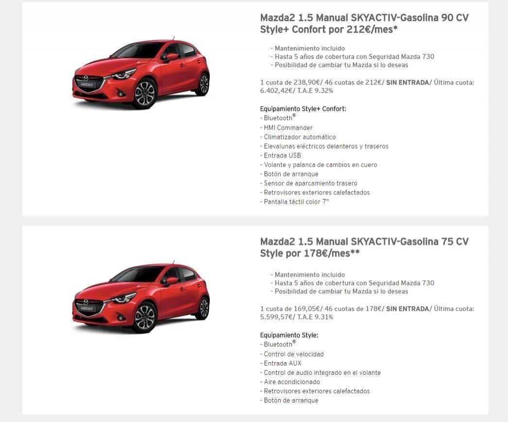 Mazda2 oferta
