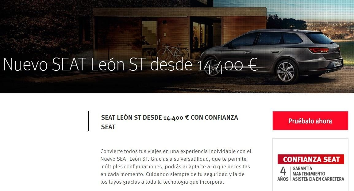 Seat León ST oferta