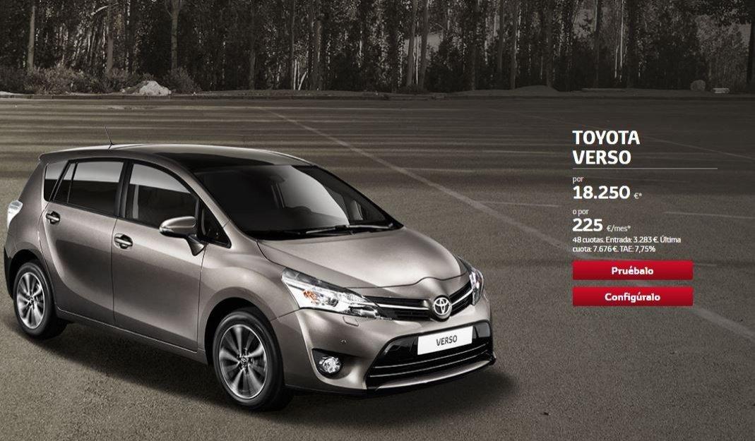 Toyota Verso oferta