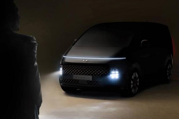 Hyundai Staria: primeras imágenes del próximo monovolumen coreano