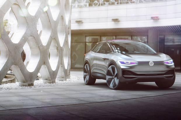 I.D. Crozz, el SUV eléctrico de Volkswagen