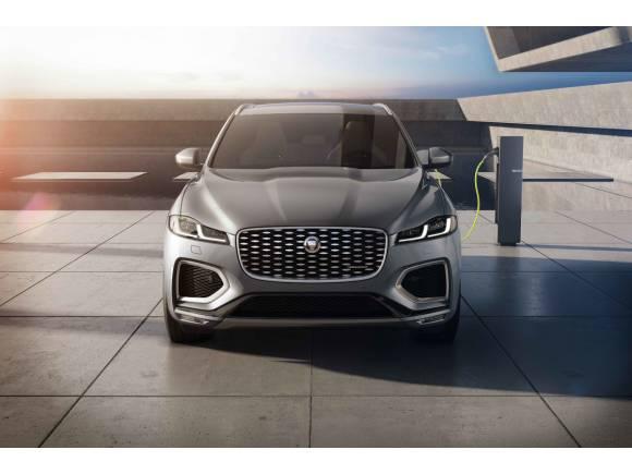 Nuevo Jaguar F-PACE: estrena diseño y motorizaciones híbridas