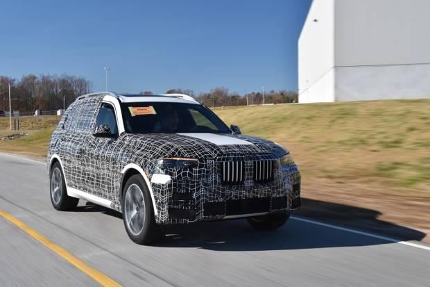 Primeras imágenes del nuevo BMW X7, que ya ha empezado a fabricarse
