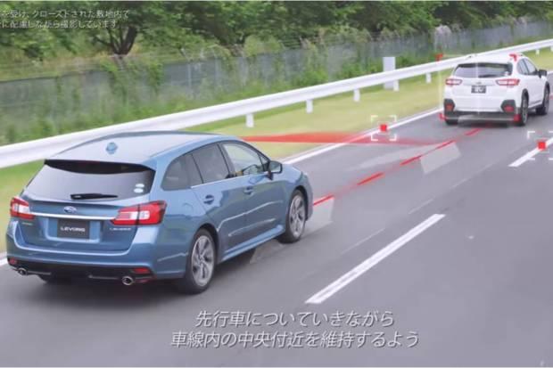 El EyeSight de Subaru incorporará funciones autónomas