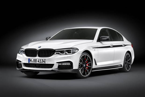 Nuevas piezas de equipamiento M Performance para el BMW Serie 5