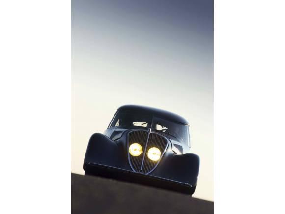 Así era el 402 n4x, el primer prototipo de Peugeot