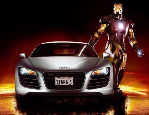 El Audi R8 tuvo en la película IronMan la mejor campaña publicitaria posible