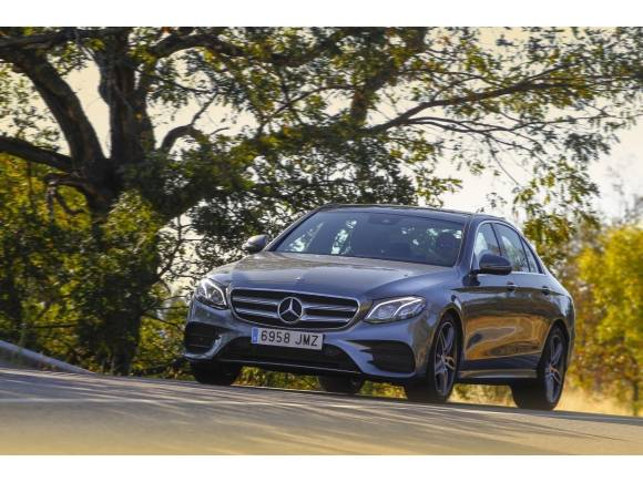 Prueba Mercedes-Benz E 220 D 2016, dueño de la autopista