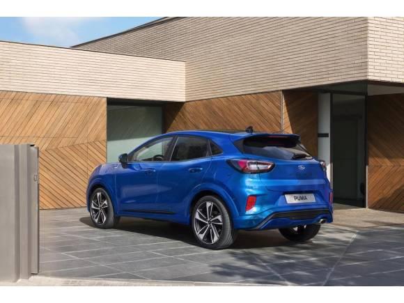 Nuevo Ford Puma, un SUV pequeño con hibridación