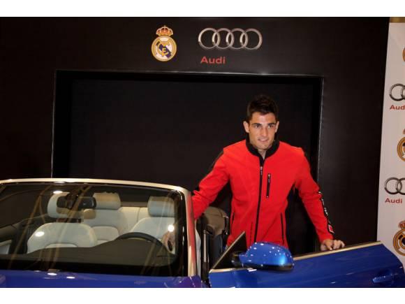 Los nuevos Audi de los jugadores del Real Madrid