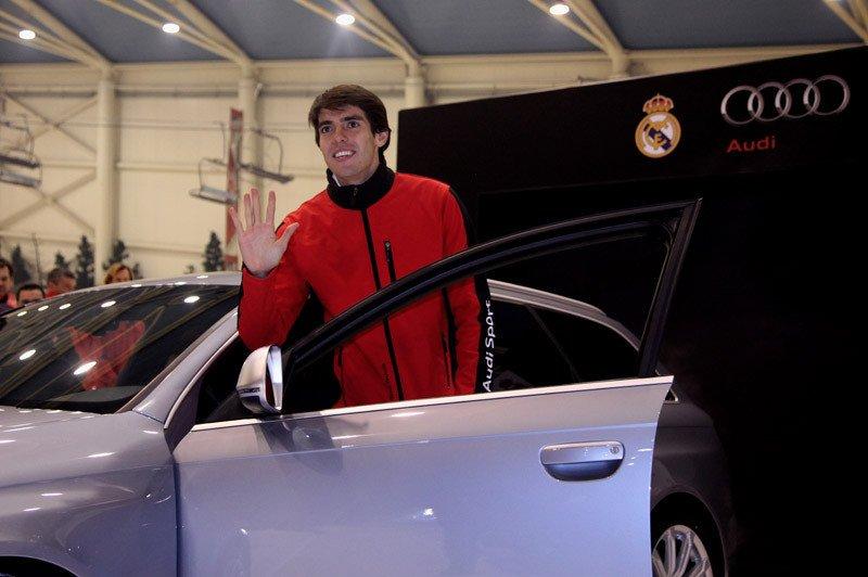 Kaka llevará un RS6 Avant