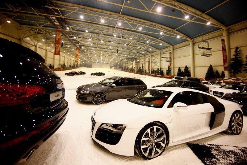 La flota de coches que este año conducirán los jugadores del Real Madrid