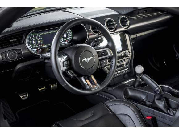 Así es el Ford Mustang Mach 1, el pony ideado para circuito