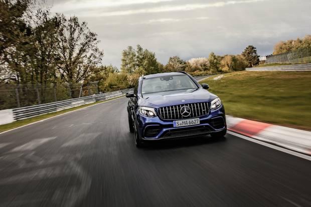 Mercedes-AMG GLC 63 S, el SUV más rápido en Nürburgring
