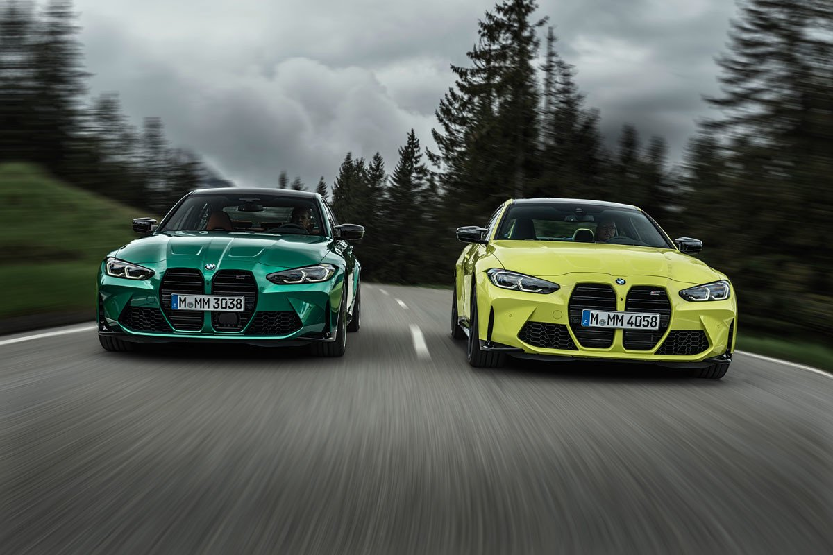 BMW M3 Competition y M4 Competition