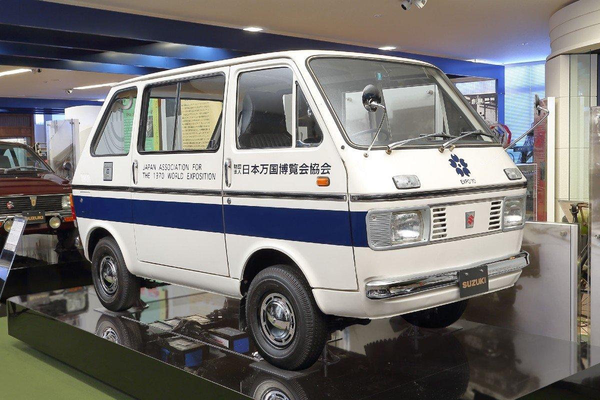Suzuki Carry Van 1970