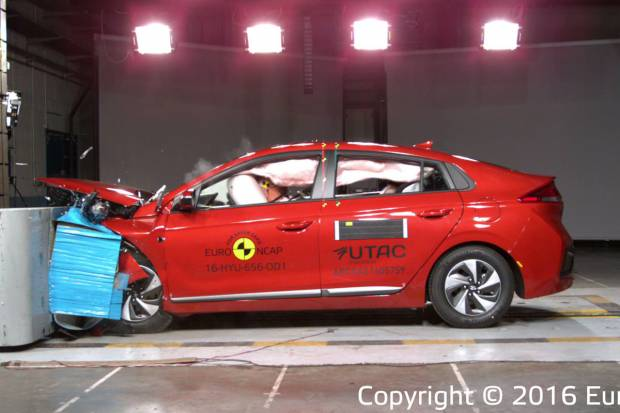 Audi Q2, Hyundai Ioniq, Ford Edge y Suzuki Ignis nuevos 5 estrellas EuroNCAP