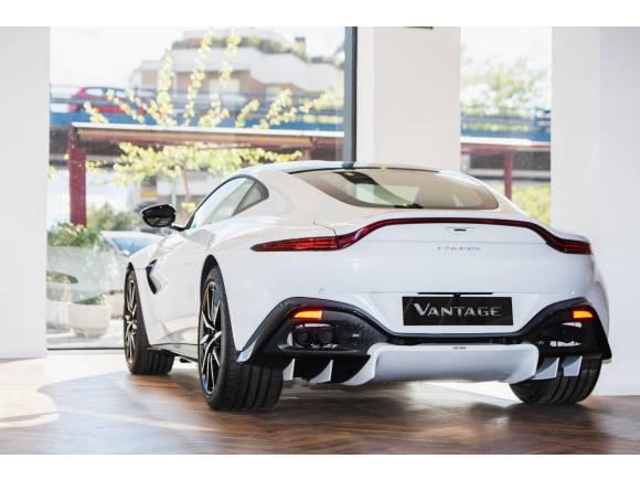Aston Martin abre en Madrid un concesionario y servicio oficial