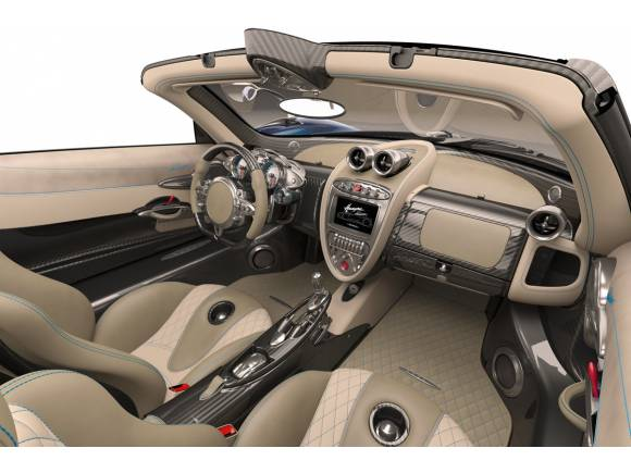 Pagani Huayra Roadster, más ligero que el coupé